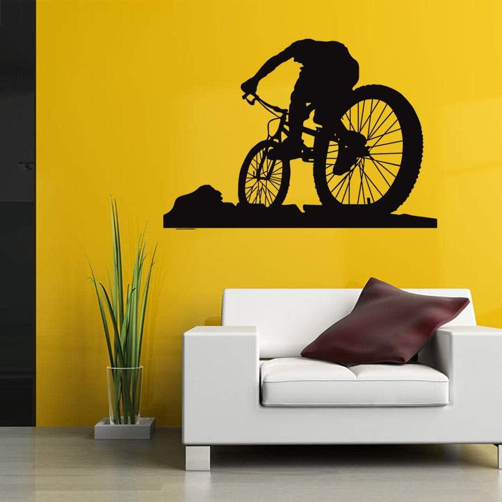 Vinilo Pared Infantilpegatina De Pared Creativa De Bicicleta De ...