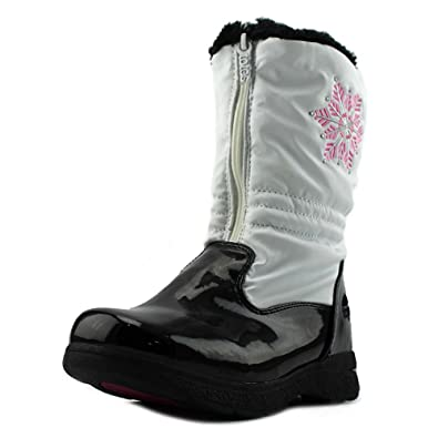 Totes Girl's Vannessa Snow Boot, WHITE, ...