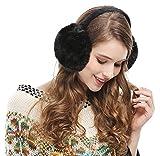 Womens Headband Earmuffs Winter Faux Fur Ear Warmers
