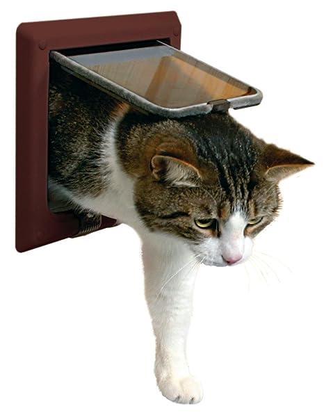 Trixie Puerta para Gato con túnel
