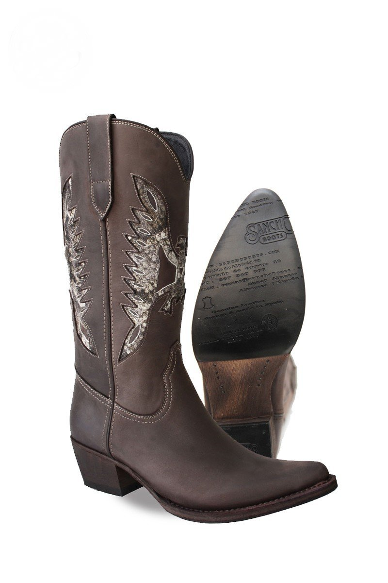 Sancho Old Crazy Softy Testa Women's Boots: Amazon.co.uk
