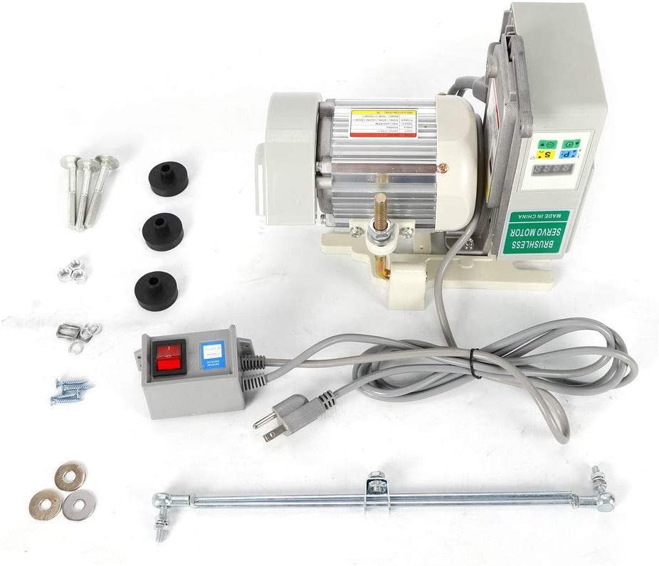 OUKANING - Máquina de Coser (Motor de 600 W, Motor sin Cola de bajo Consumo para máquina de Coser Industrial, Corriente alterna): Amazon.es: Juguetes y juegos