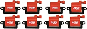 MSD 82648 Ignition Coil, (Pack of 8)
