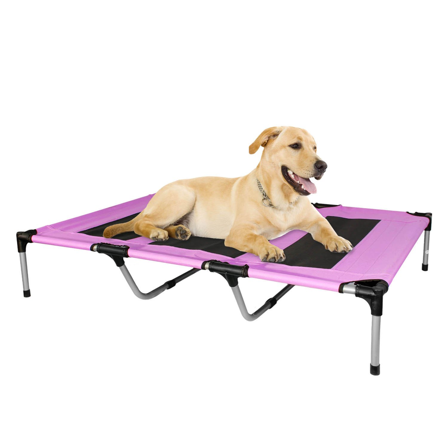 Kopeks - Elevated Indoor Outdoor Portable Bed - Extra Large Size Pink Color by KOPEKS (Image #1)