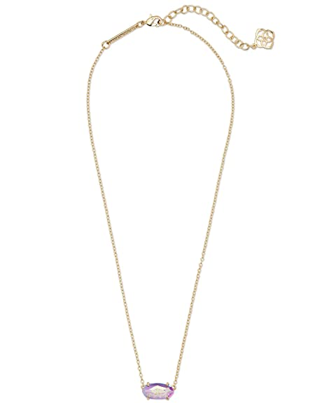 5df5173ce Amazon.com: Kendra Scott Womens Ever Necklace Gold/Dichroic Glass One Size:  Jewelry