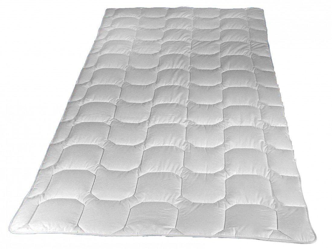 Matratzenauflage 150 x 200 cm - Walburga Unterbett aus reiner Baumwolle (1500 g) - Kochfest & trocknergeeignet