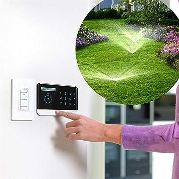 SHIJING Temporizador de riego para jardín Sistema de riego WiFi Regulador Inteligente Temporizador de riego Sistema de riego para jardín de EE. UU. 110V EU 220V-240V: Amazon.es: Deportes y aire libre