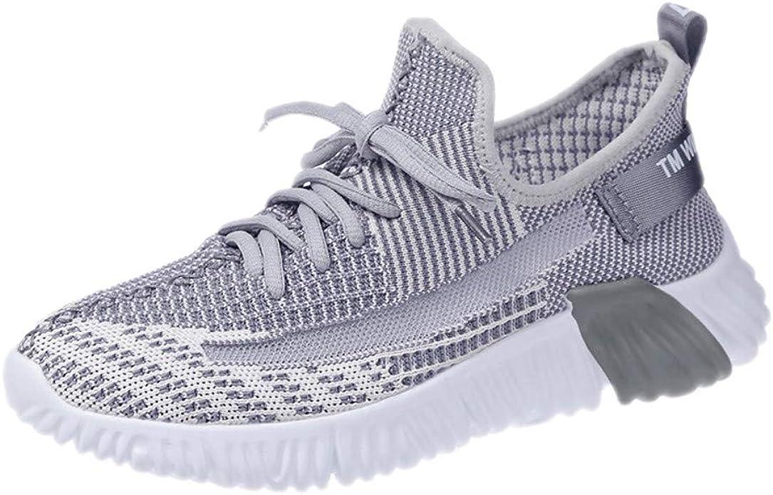 UOMOGO - Zapatillas de Running para Mujer de Verano, Calcetines, Zapatillas de Gimnasia con luz Alta, para Correr Gris Size: 40 EU: Amazon.es: Zapatos y complementos
