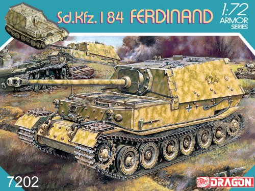 (1/72 Sd.Kfz. 184 Ferdinand German Tank Dragon)