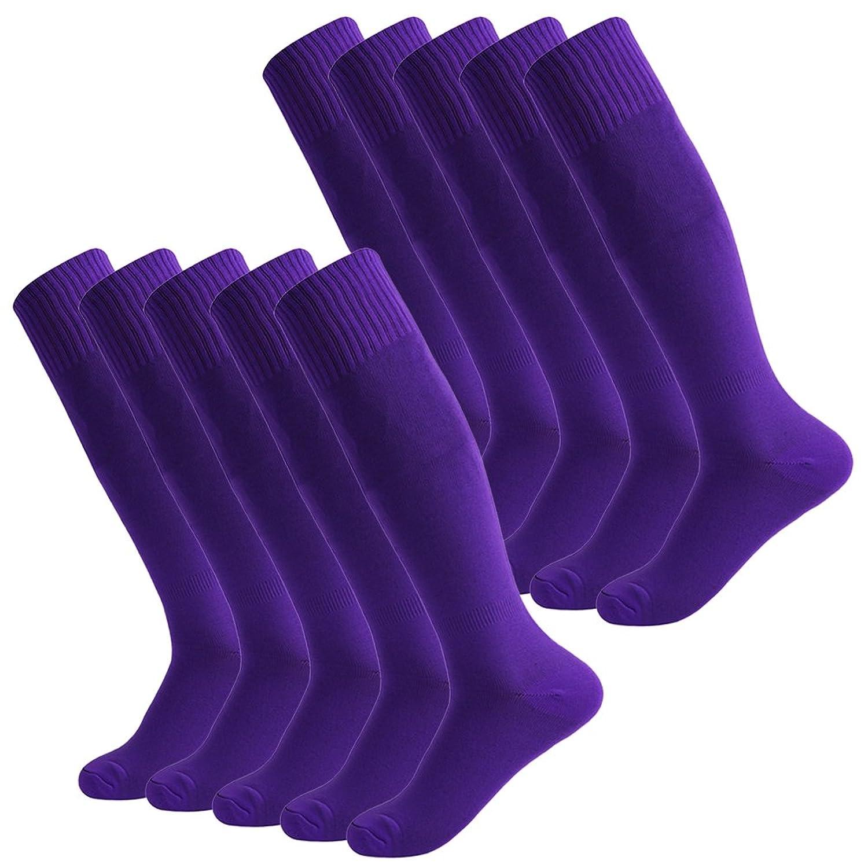 Fasoar SOCKSHOSIERY メンズ B07D9F1ZJ110 Pairs-Purple