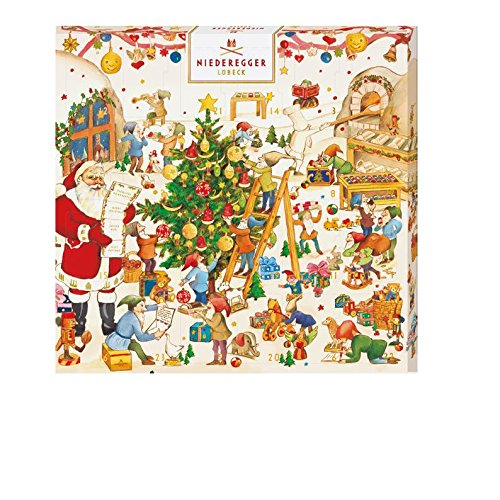 Niederegger Min Advent Calendar, 5.9 Ounce