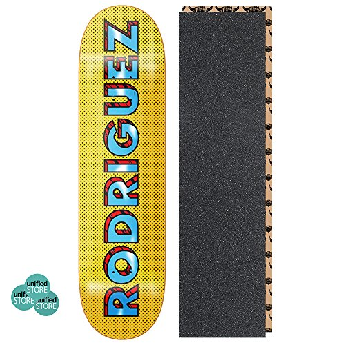 Pop Art Skateboard Deck (Primitive Paul Rodriguez Pop Art 8.125