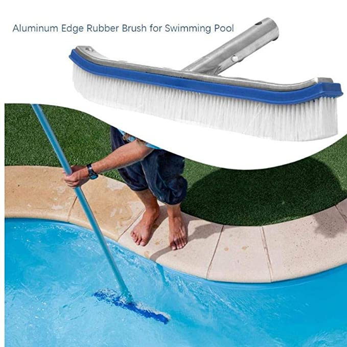 10inch Moss Algen Reinigungsb/ürsten Stahldraht-Pool-Wand-Reinigungsb/ürste Outdoor Hot Tubs Zubeh/ör