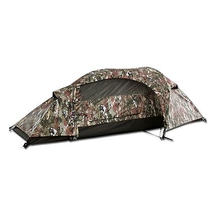 Mil-Tec Recom One Man Tent Multitarn  sc 1 st  Amazon.com & Amazon.com : Mil-Tec Recom One Man Tent Multitarn : Sports u0026 Outdoors