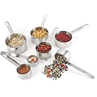 KitchenTour 7-Piece Stainless Steel Measuring Cups Set