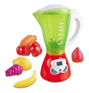 Liberty Imports My First Kitchen Appliances Toy | Kids Pretend Play Gourmet Cooking Set with Lights and Sounds (Juice Blender)