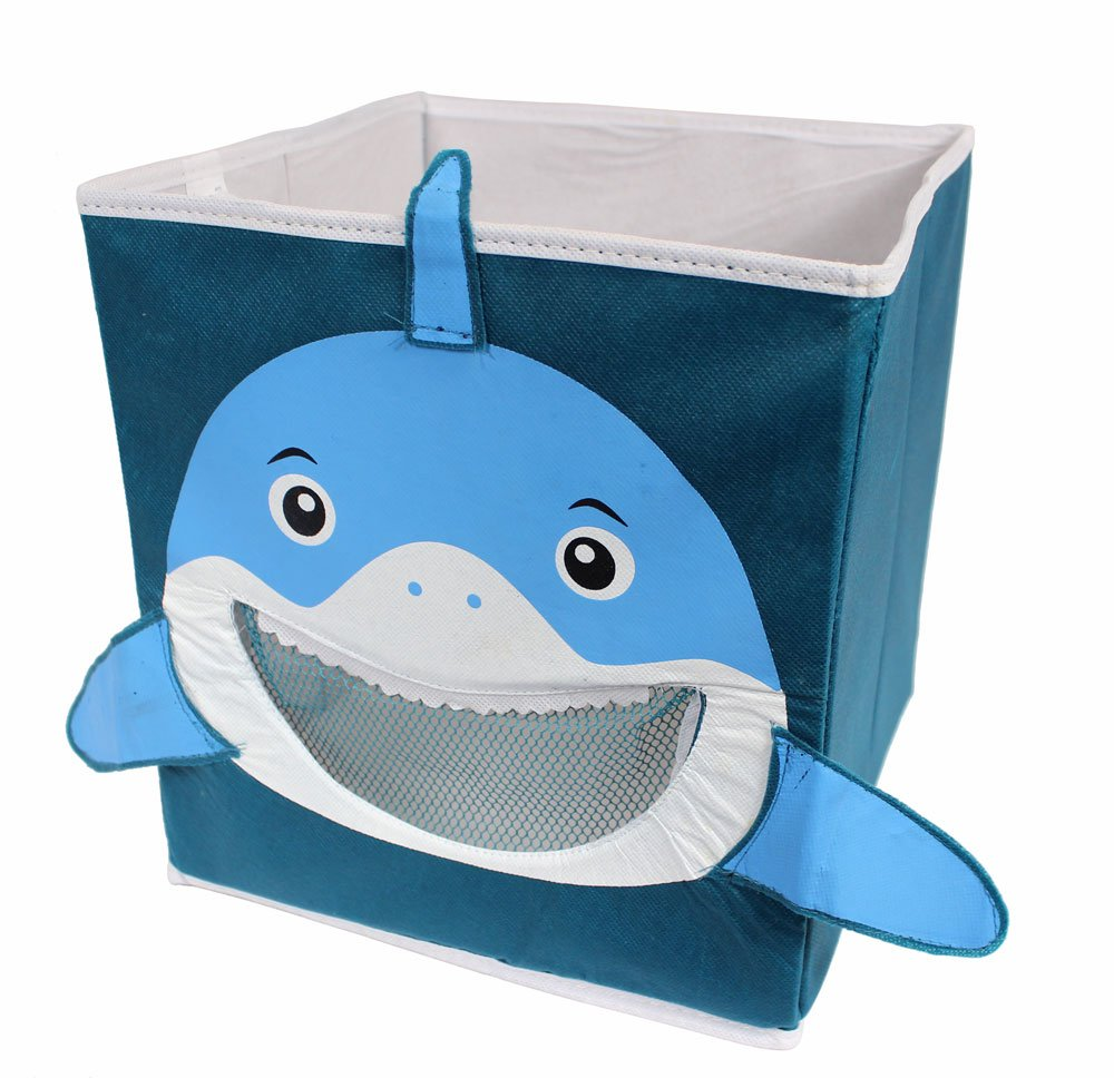 Kid's Shark Collapsible Toy Storage Organizer Clever Creations