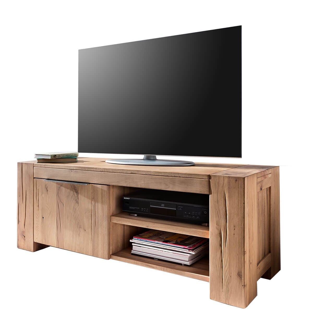 Tv Lowboard Fernsehschrank Unterschrank Granby 130 Cm Massivholz