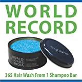 Trycone Keratin Shampoo Bar with Conditioner & Argan Oil, World Record of 365 Hair Wash from 100 Gm