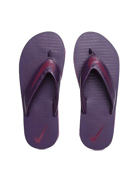 nike maroon slippers