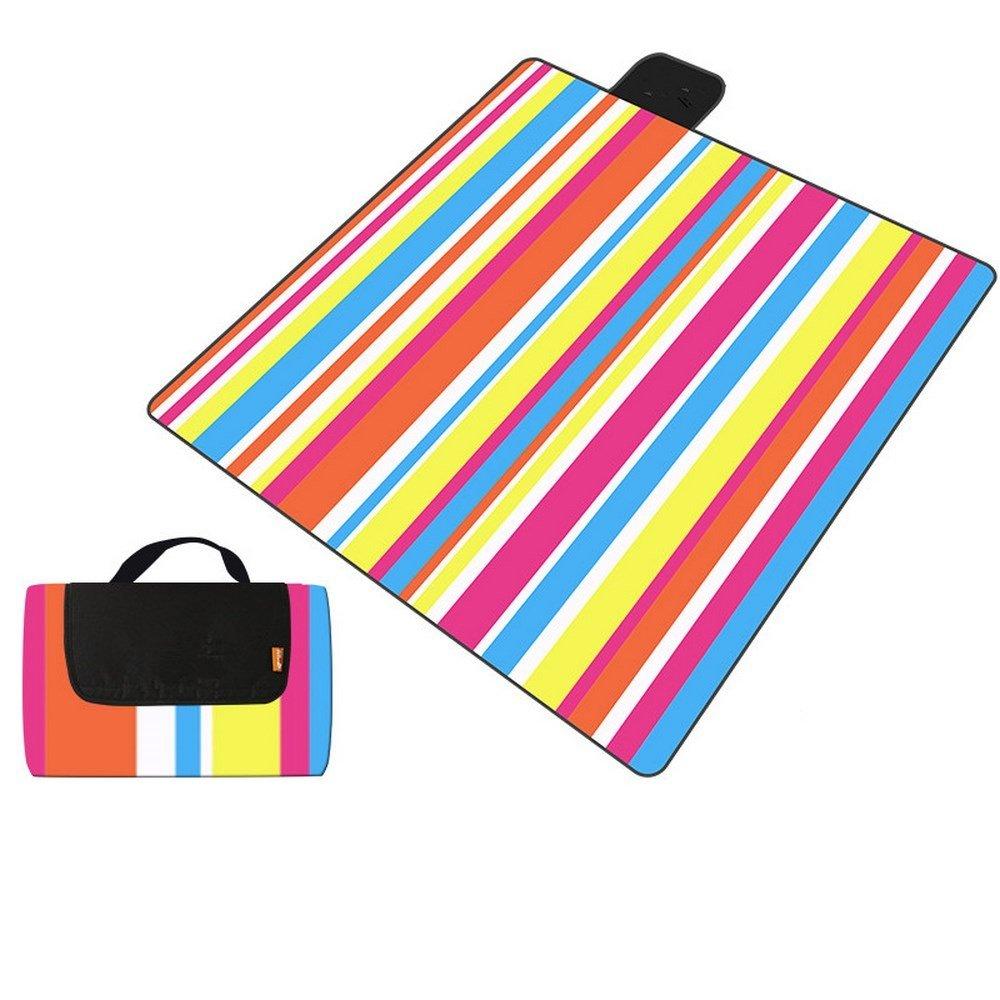 DOGYEARDAJI Picknick Im Grünen Matte Feuchtigkeit Feuchtigkeit Feuchtigkeit Verpackt Picknick Strandmatte B07D14XRJB | Neuheit  647a5d