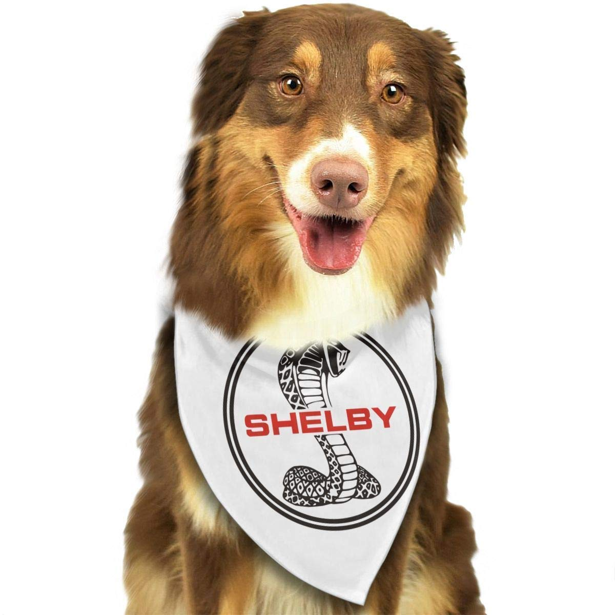Amazon com smartpig kitchallis ford mustang svt cobra shelby dog banna collars triangle neckerchief puppy bibs scarfs pet scarfs pet supplies