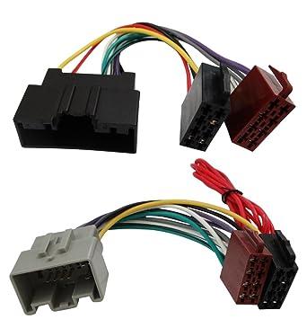 Aerzetix ISO-Konverter Adapter Kabel Radioadapter Radio Kabel Stecker ISO-Kabel Verbindungskabel