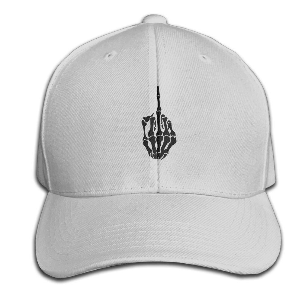 HXXUAN Baseball Hats Fuck Middle Finger Snapback Sandwich Cap Adjustable Peaked Trucker Cap