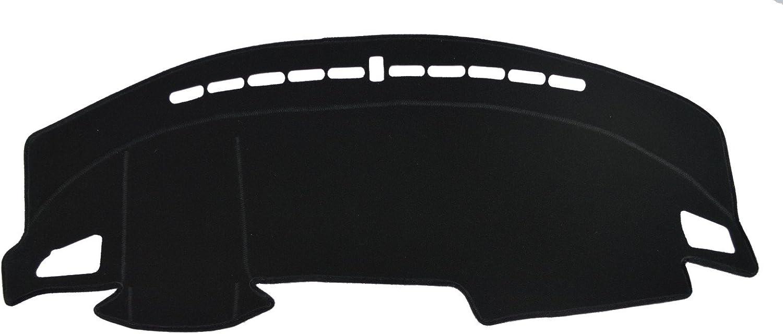 Custom Fit Dashboard Black Center Console Cover Dash Mat Protector Sunshield Cover for 2013 2014 2015 2016 2017 2018 Volkswagen Golf Hatchback