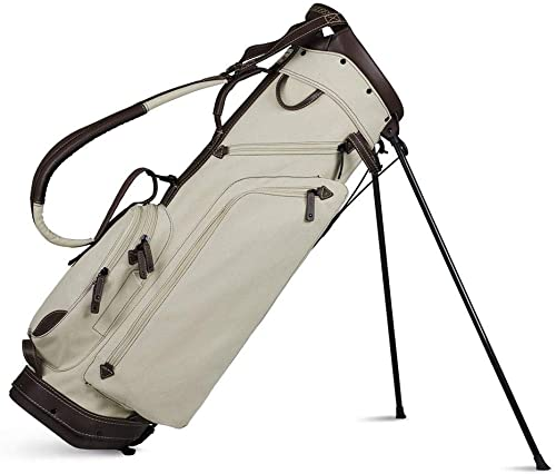 Sun Mountain Leather Canvas Stand Bag 2018 Canvas Brown