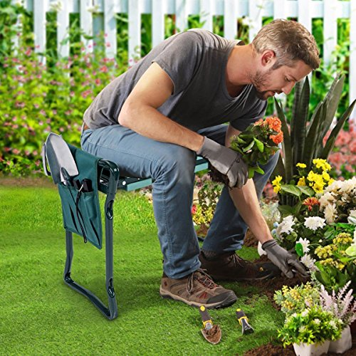 Review Goplus Folding Garden Kneeler
