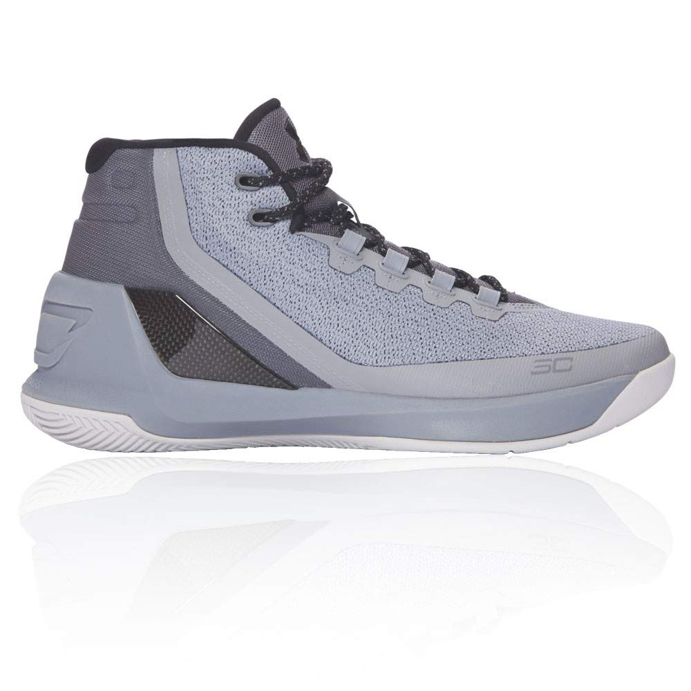 new products a244b bfb5f Galleon - Under Armour Mens Curry 3 Stl/Alu/Blk Basketball ...
