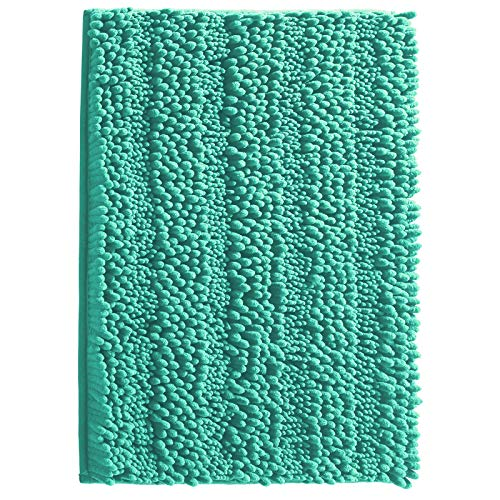 Christmas Clearance Chenille Non Slip Striped Soft Microfibers Bathroom Rugs, Extra Soft and Absorbent Shaggy Rug…