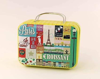 Casa de muñecas en miniatura Hierro 1:12 Caja de equipaje de viaje maleta decoración de casa de muñecas