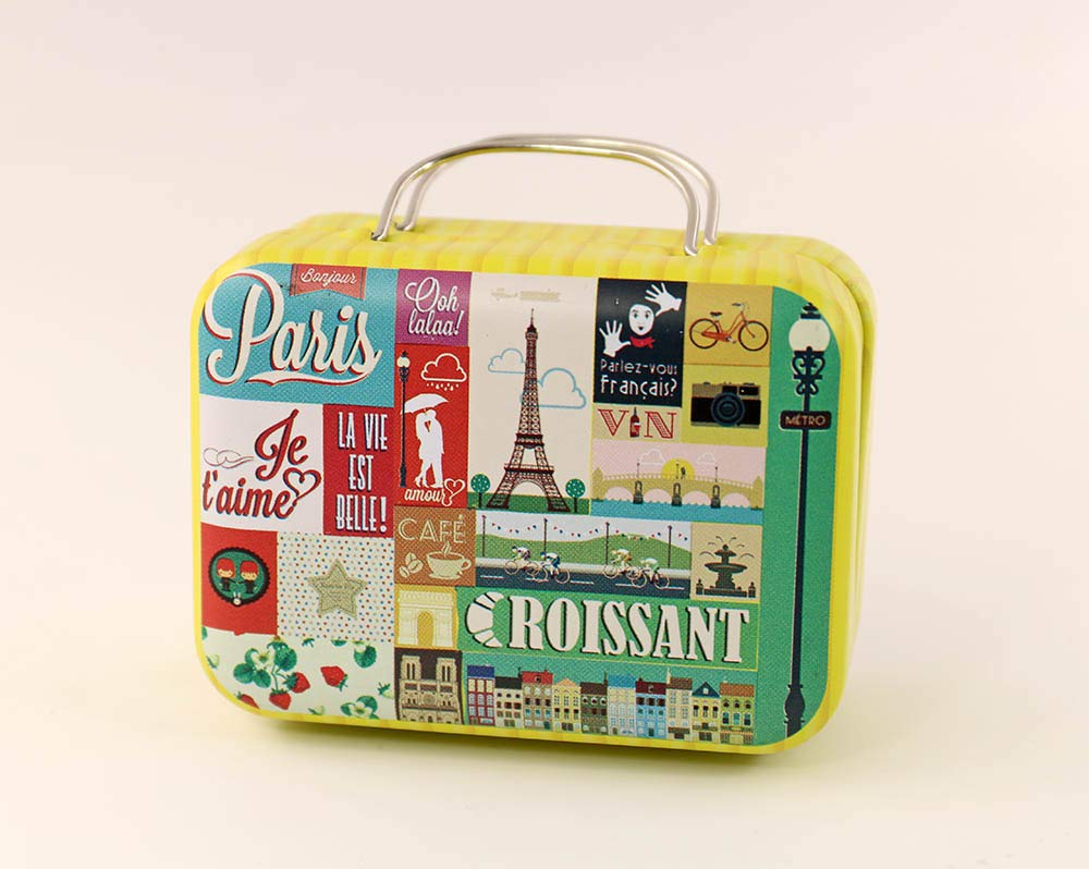 1/6 Barbie Blythe Size Tower Doll Dollhouse Miniature Toy Trunk Box Suitcase Luggage Traveling Case my minidream