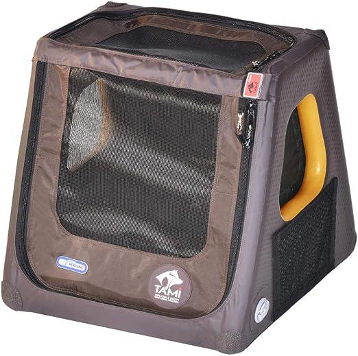 TAMI Hinchable Perros Box XS – Dog Caja Caja de Transporte Perros Perro Auto Caja de Transporte Caja de Transporte falbare Perros Jaula: Amazon.es: Productos para mascotas