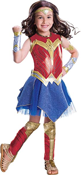 Generique - Disfraz Wonder Woman niña 7 a 8 años: Amazon.es ...