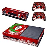 Merry Christmas xbox one skin for console and controllers
