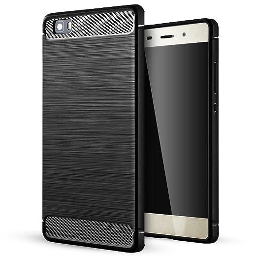 17 opinioni per Huawei P8 Lite Cover,Huawei P8 Lite Custodia,Lizimandu Creative 3D Schema
