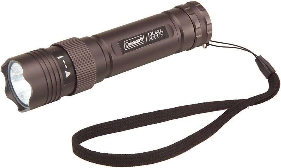New Coleman Divide 200 Lumens LED Torch Flashlight /& Duracell Batteries!!