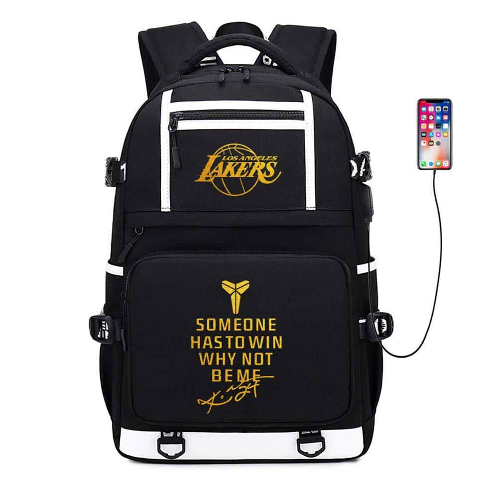 Basketball Player Star Kobe Multifunction Backpack Travel Student Backpack Fans Bookbag