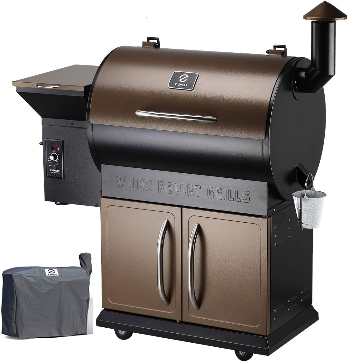 Z Grills 700D Wood Pellet Grill Smoker - Most Multifunction