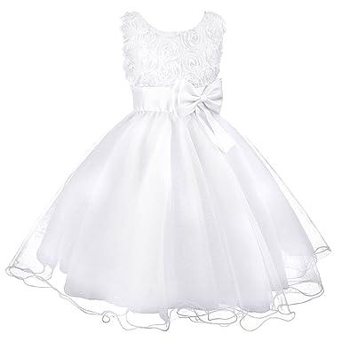 Amazon Acecharming Little Girls Tutu 3d Rose Flower Dress For