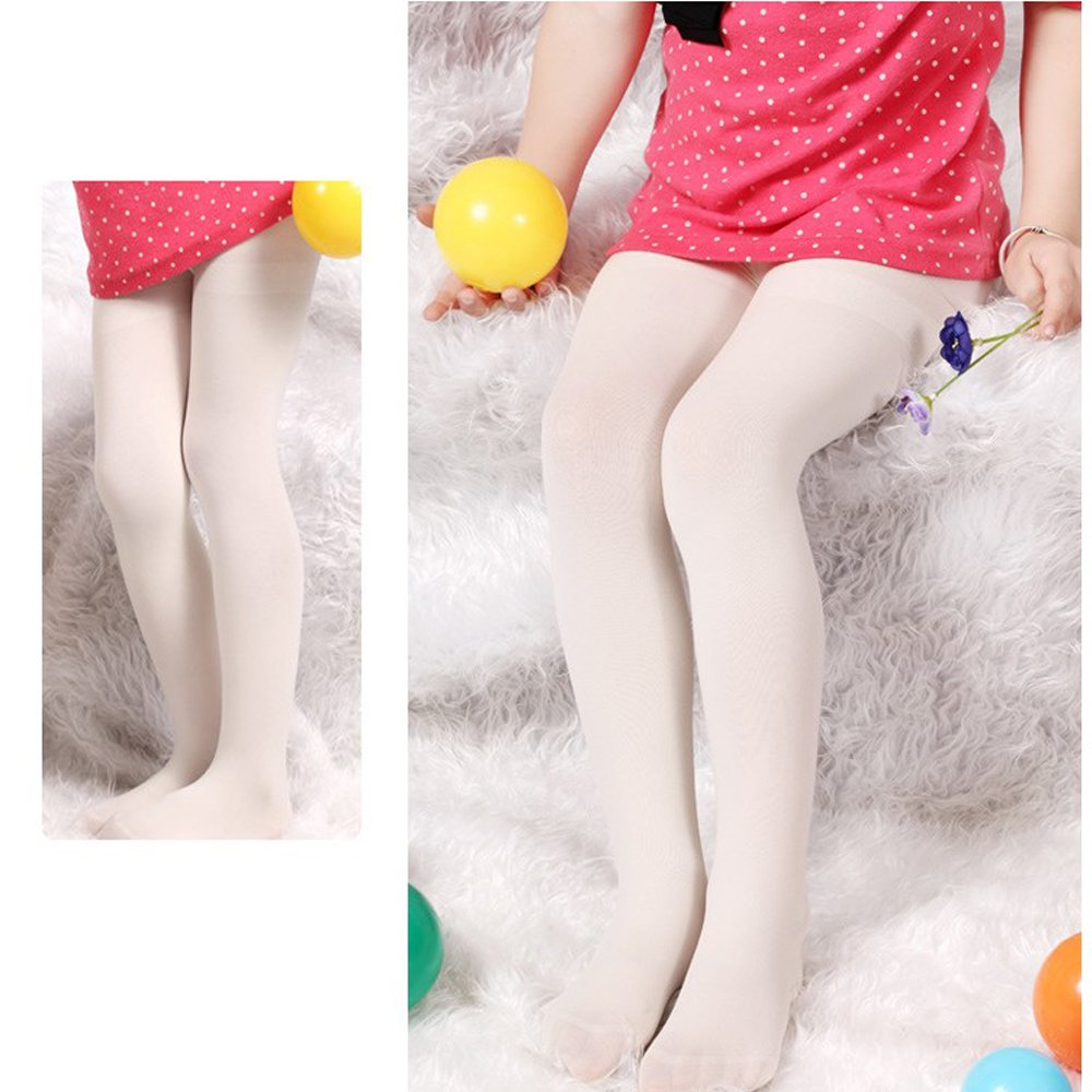 b6dba702ba2 Amazon.com   Baby Girl Toddler Dancing Socks Velvet Pantyhose Tights  Leggings Pants Stockings Socks Soft Suitable for 4-6 Years Old Baby Kids  Children