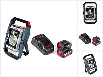 Bosch GLI 0601446501 - Linterna con batería (18 V, 2200 lm ...