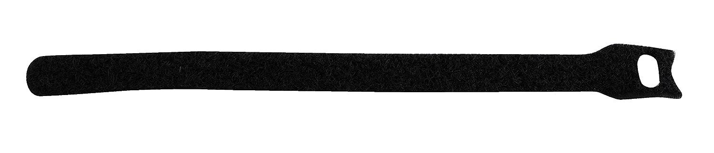 Pack of 200 8 Length 1//2 Width Vestil Manufacturing Corp 8 Length 1//2 Width Vestil STRAPD-8 Integral Hook and Loop Cable Tie