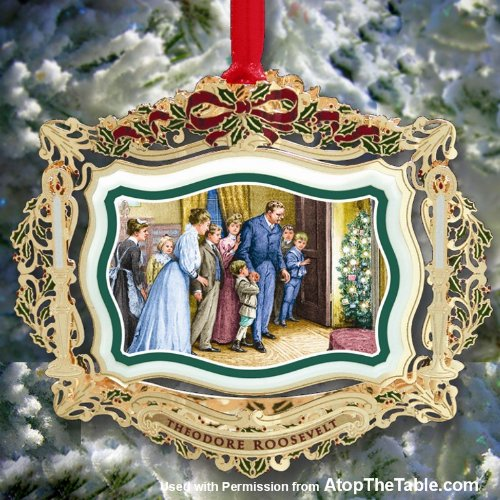 2011 White House Christmas Ornament, Santa Visits the ...