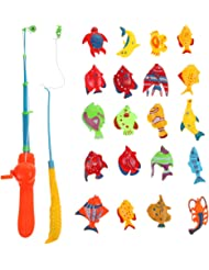 Diamondo 20X Fish Kids Magnetic Magnet Fishing Kid Children Eearly Educational Toy