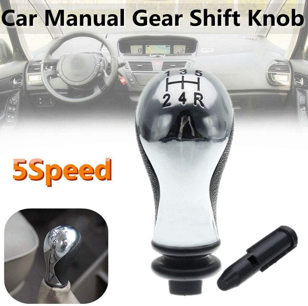 Harwls Manual Car Gear Shift Knob Adapter 5 Speed for Citroen C5 01-08 Xsara Picasso 99-08