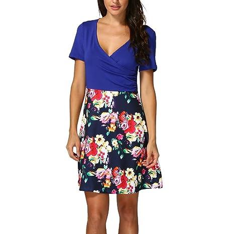 885ba16448c3e Verano Ropa Mujer     x1 F525  lmmvp     x1 F525  mujeres funda para  vestido de playa vestido flores Ropa Online comprar ...